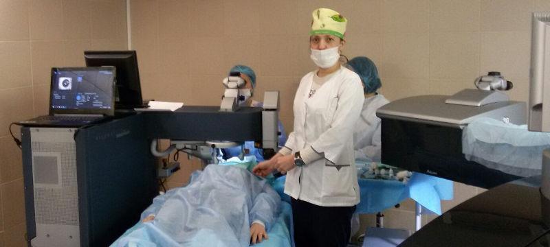 Витреоретинальная хирургия