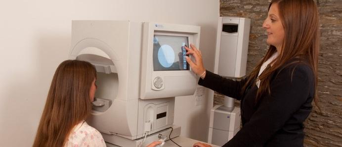 Диагностика полей зрения