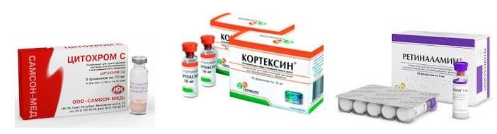 Препараты для улучшения сетчатки