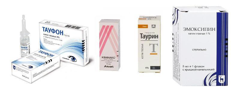 отслоение сетчатки глаза капли мази для лечения
